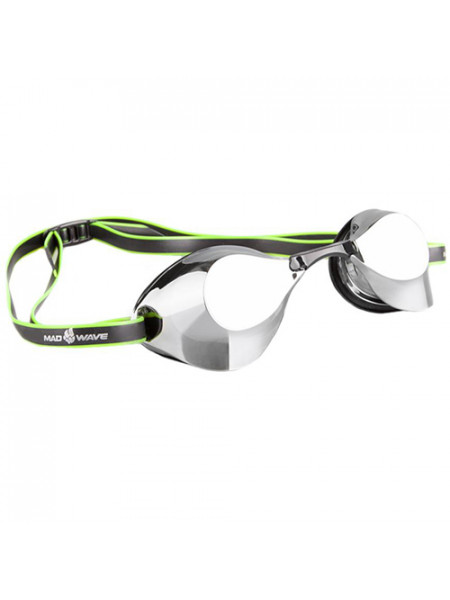 M0458 07 0 01W Стартовые очки Turbo Racer II Mirror, , Black