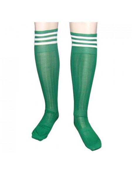 G301 Зеленые Гетры ф/б, подростковые р.36-41