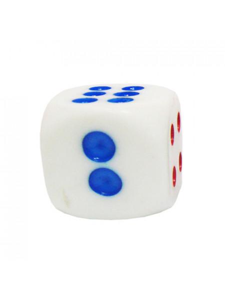 G206 Кубики белые длина ребра 17мм цена за 1 шт.