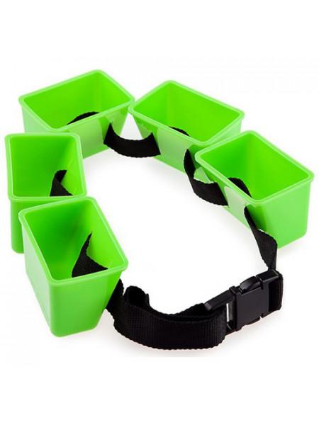 M0827 01 0 00W Поясной тренажер Break Belt, one size, Green