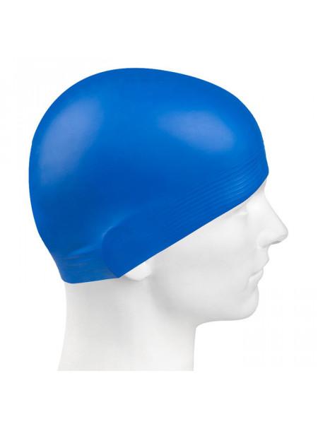 M0565 01 0 04W Латексная шапочка SOLID, , Blue