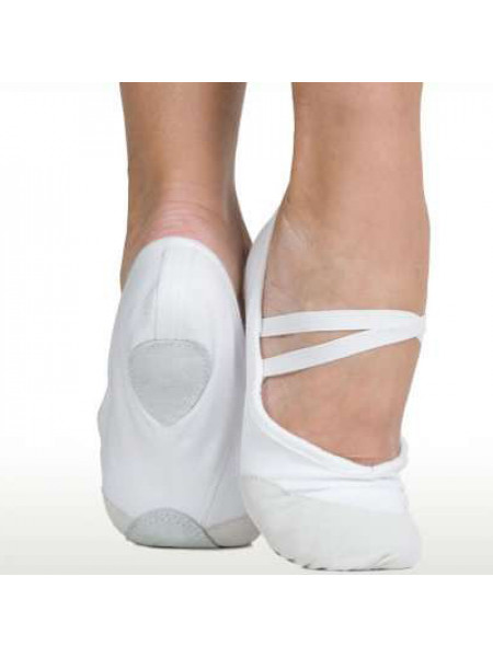 Балетки гимнастические белые