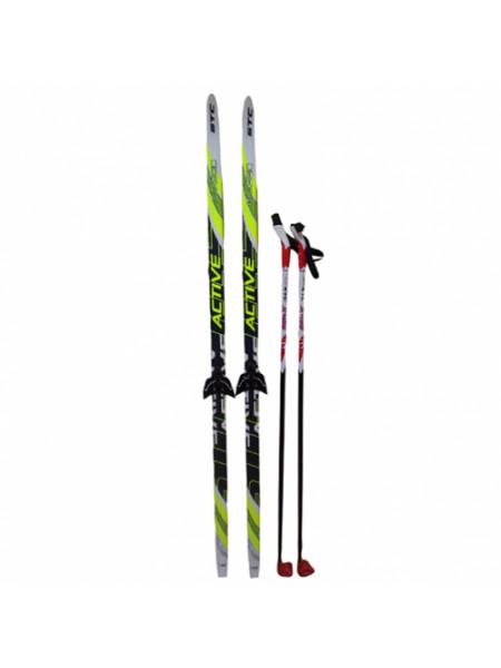 150см STC Комплект лыжный, рост 150см, на крепл 75мм