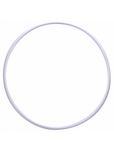 1070 Обруч 70см аналог SASAKI, цвет белый, д/профессиональных занятий