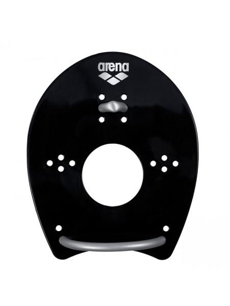 Лопатки для плавания ARENA ELITE HAND PADDLE black/silver