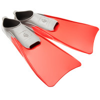 M0746 05 4 05W Ласты POOL COLOUR LONG, 38-39, Red