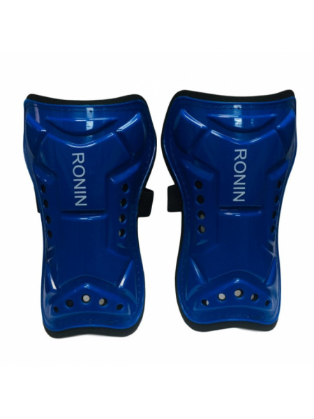 G2KСин Щитки футбольные Ronin (защита голени) детские, синие