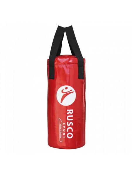 Мешок бокс. RuscoSport Вес 13кг(+/- 3кг),60см, d30 красный