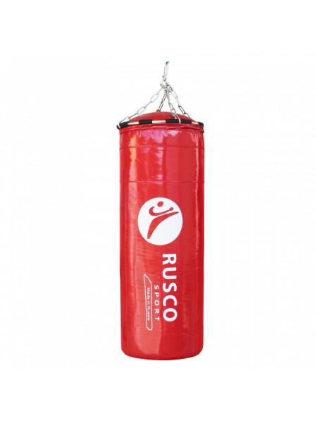 Мешок бокс. RuscoSport  Вес 25кг(+/- 5кг),90см, d35 красный