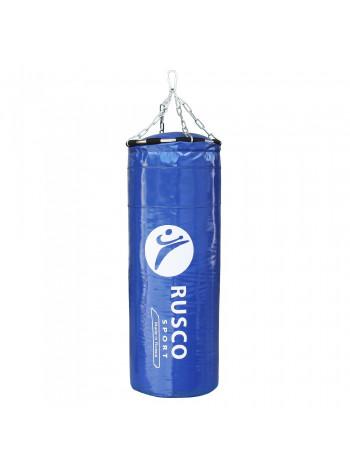 Мешок бокс. RuscoSport Вес 25кг(+/- 5кг), 90см, d35 синий