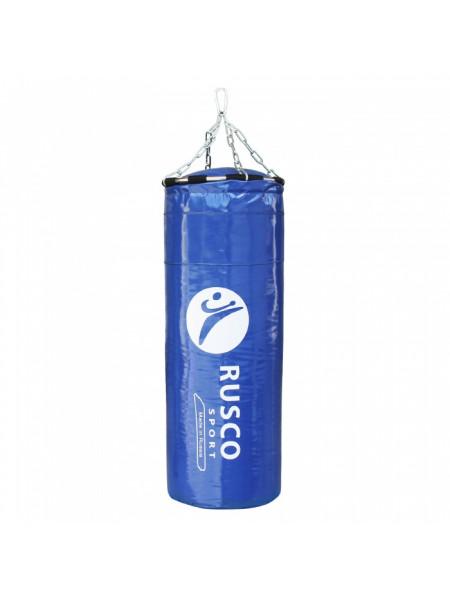 Мешок бокс. RuscoSport Вес 25кг(+/- 5кг),90см, d35 синий