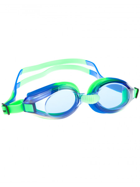 M0424 07 0 10W Очки для плавания Nova, , Green/Blue