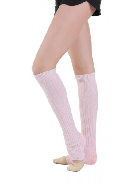 GD7-982 гетры вязаные для гимнастики и танцев, розовый