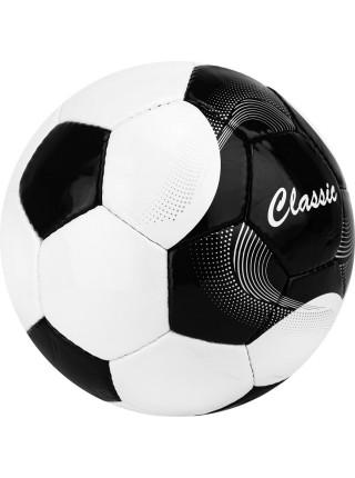 """Мяч футб. """"Classic"""" арт.F120615, р.5, 32 панели. PVC, 4 подкл. слоя, ручная сшивка, бело-черный"""